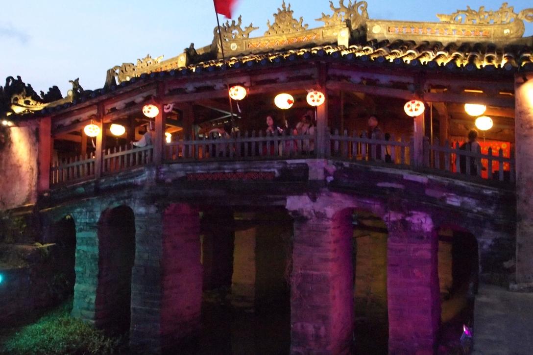 Hoi Ans Wahrzeichen: die Chua Cau Brücke
