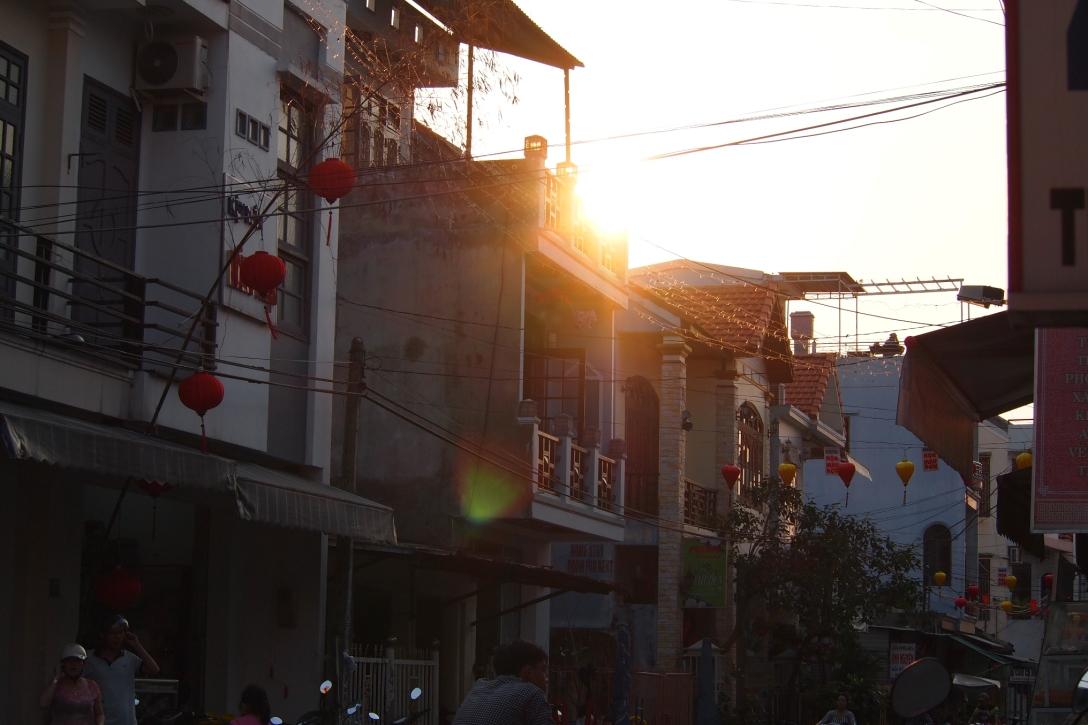 In den Straßen von Hoi An.