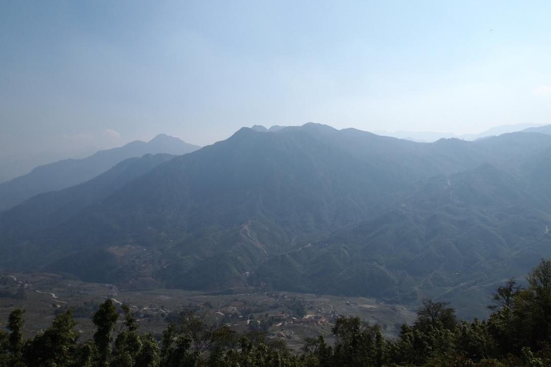 Gebirge in Sapa