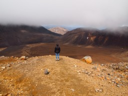 Tongariros teuflische Treppen