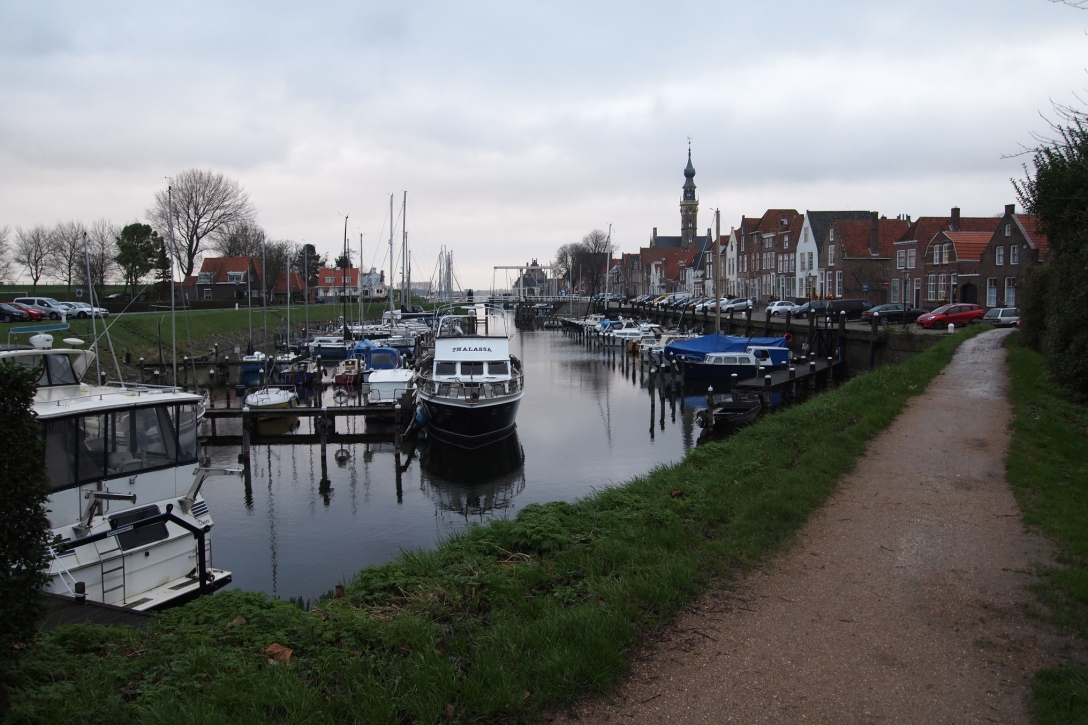 Der Hafen von Veere.