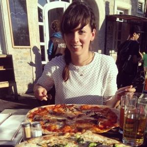 Pizza im Locanda