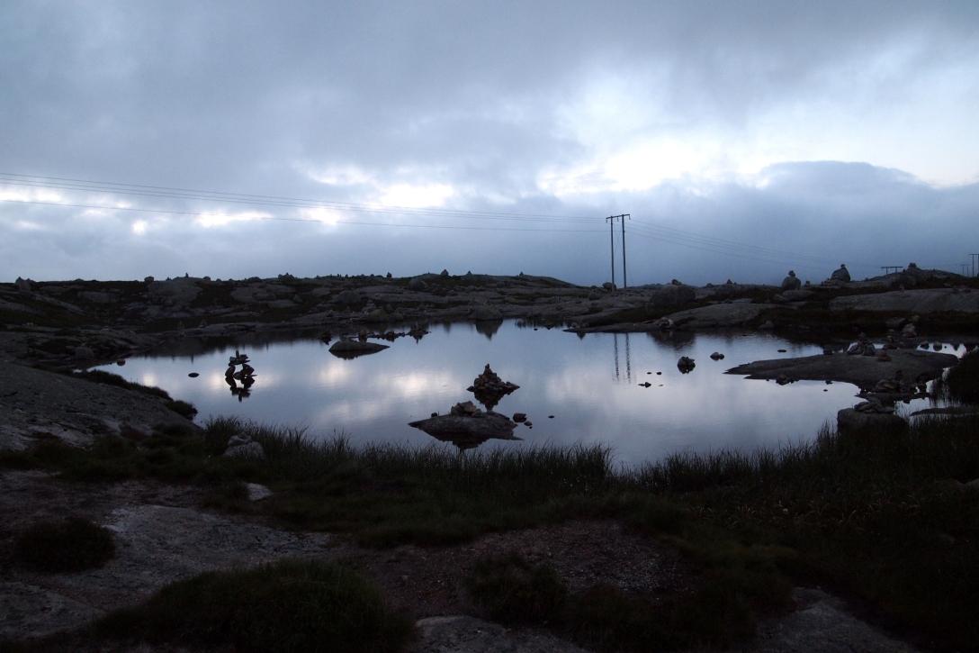 Fast mystisch: Der Stellplatz auf dem wir vor der Wanderung zum Kjeragbolten eine Nacht verbrachten.